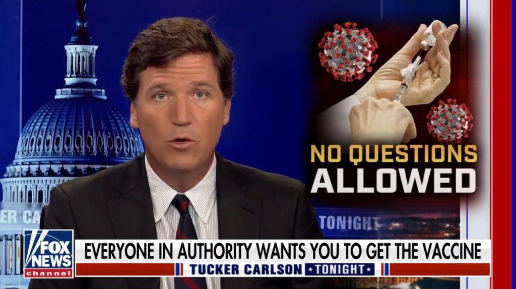 Moderator von Fox News, Tucker Carlson fragt: Wie viele Amerikaner sind nach der Einnahme der Covid-Impfstoffe gestorben? Die Antwort sollte wach rütteln